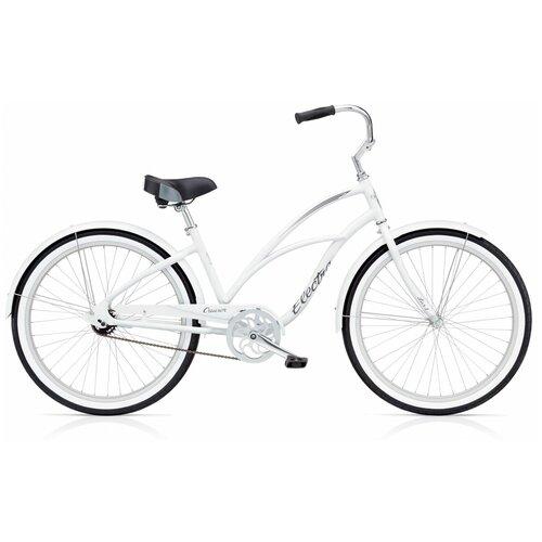 Велосипед городской Electra Cruiser Lux 1 White(В собранном виде)