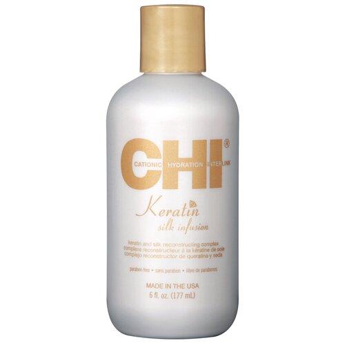 chi keratin reconstructing conditioner CHI Keratin Шелк для волос, 177 мл