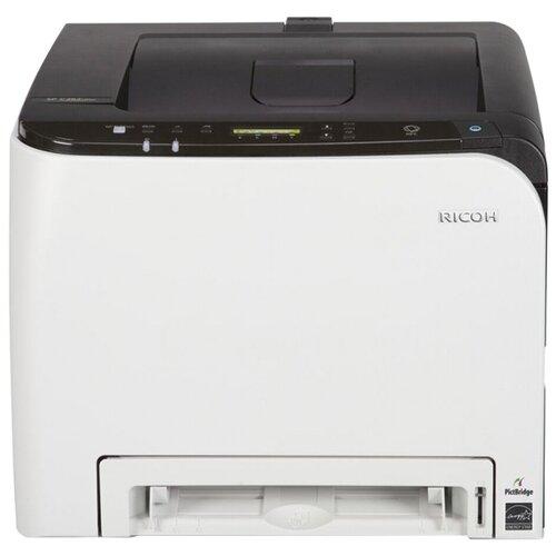 Фото - Принтер Ricoh SP C261DNw, белый/черный принтер лазерный ricoh sp c261dnw