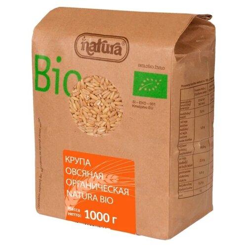 Natura Bio Крупа овсяная органическая 1 кг