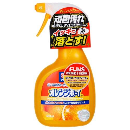Фото - FUNS спрей универсальный Orange Boy с ароматом апельсина, 0.4 л funs спрей для ванной комнаты с ароматом апельсина и мяты 0 38 л