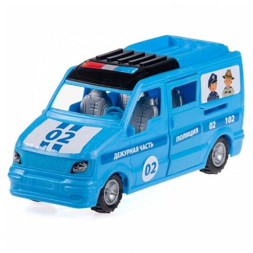 Машинка Юг-Пласт Микроавтобус Полиция пластик Юг-Пласт