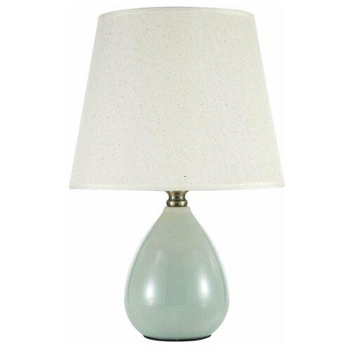 Настольная лампа Arti Lampadari Riccardo E 4.1 GR, 60 Вт настольная лампа arti lampadari bernalda e 4 1 s 60 вт