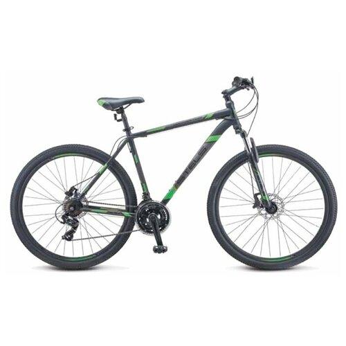 велосипед stels navigator 900 d 29 f010 21 серебристый синий Горный (MTB) велосипед STELS Navigator 900 D 29 F010 (2020) 21 черный/зеленый (требует финальной сборки)