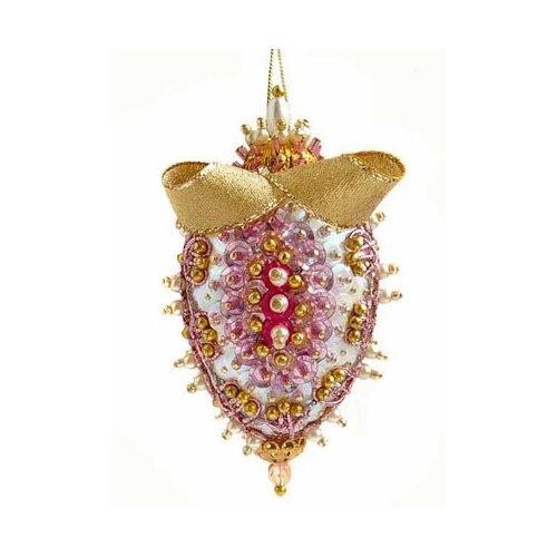 Купить Набор для творчества - елочная игрушка Розовая орхидея 11 см FS-045, ФИЛИГРИС, Изготовление кукол и игрушек