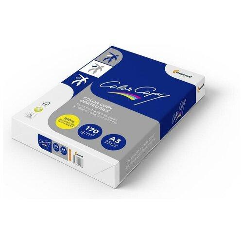 Фото - Бумага Color Copy A3 Coated Silk 170 г/м² 250 лист., белый бумага color copy а3 200 г м2 250 л для полноцветной лазерной печати а австрия 161% cie a3 7158
