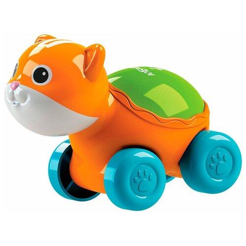 Фото - Развивающая игрушка Азбукварик Люленьки Котик Светяшка, оранжевый подвесная игрушка азбукварик зайчонок люленьки желтый голубой