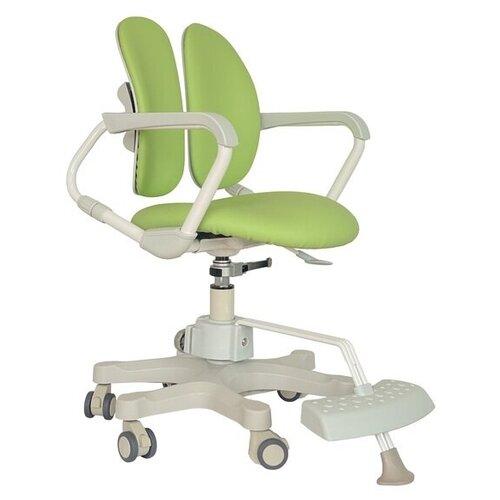 компьютерное кресло duorest kids max детское обивка искусственная кожа цвет светло зеленый Компьютерное кресло DUOREST Kids DR-280DDS детское, обивка: искусственная кожа, цвет: milky green