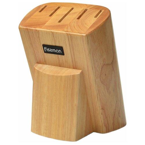 Fissman Подставка для ножей 13x17х21 см бежевый подставка для кухонных ножей fissman 10x10x23 см