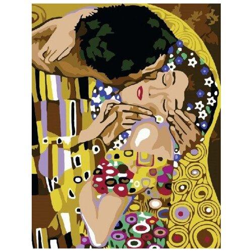 Купить Поцелуй. Густав Климт, Paintboy, Картины по номерам и контурам