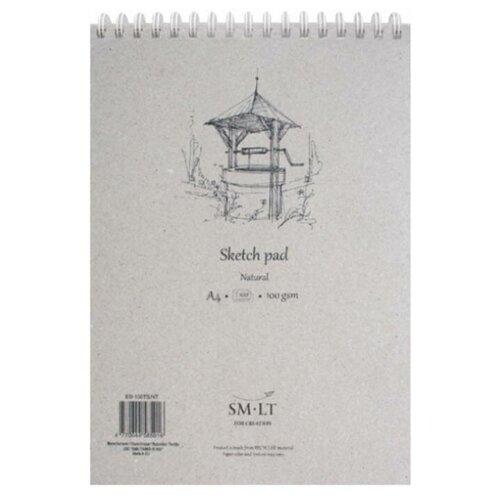 Купить Альбом для эскизов Smiltainis Authentic Natural 29.7 х 21 см (A4), 100 г/м², 100 л., Альбомы для рисования