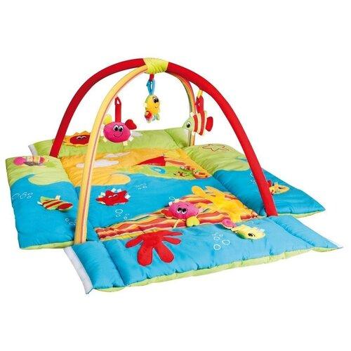 коврики для купания canpol цветной океан 5 шт 80 003 Коврик игровой Canpol babies многофункциональный, Цветной океан, 0+ (250930039)