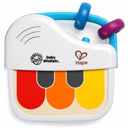 Купить Hape пианино 12008 белый/разноцветный, Детские музыкальные инструменты