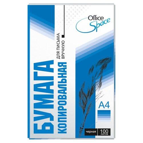 Бумага OfficeSpace A4 CP_342/175035 100 лист., черная бумага officespace a4 cp 342 175035 100 лист