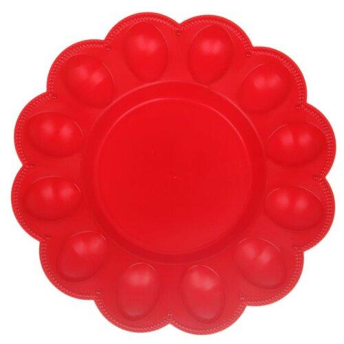 Тарелка для яиц BEROSSI ИК 221 Роза
