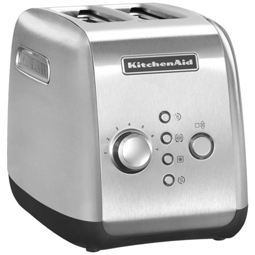 Фото - Тостер KitchenAid 5KMT221ESX, стальной тостер kitchenaid 5kmt2204efp морозный жемчуг