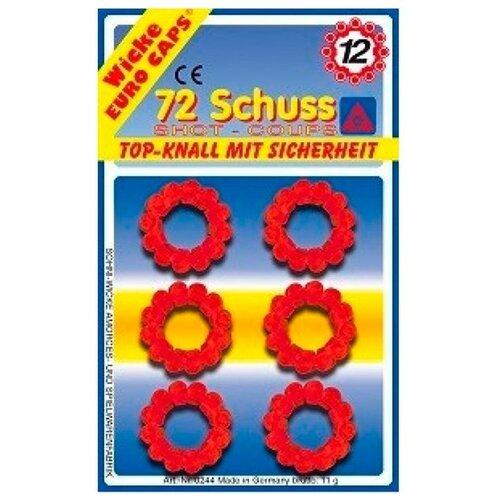 Sohni-wicke 12-зарядные пистоны, 72 шт., упаковка блистер 0244
