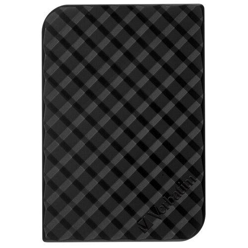 Фото - Внешний HDD Verbatim Store 'n' Go Style 1 TB, черный внешний hdd verbatim store n go 2tb 53665 space grey
