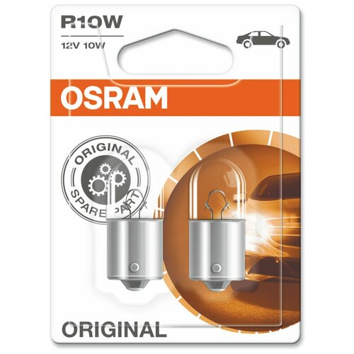 Лампа автомобильная накаливания Osram Original 5008-02B R10W 10W 2 шт.