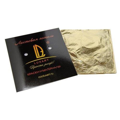 Поталь в книжке для золочения 14*14см 30л Luxart Deco Potal роза непала PL07V0030 5498518