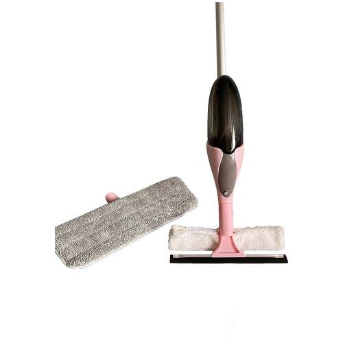 Швабра с распылителем 2 в 1 / Швабра-спрей / Окномой / Щетка для мытья окон