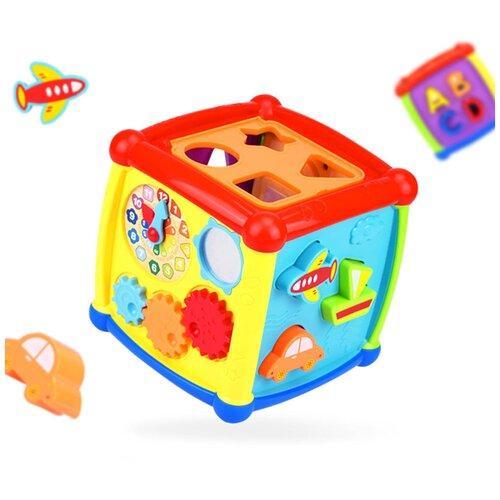 Игрушка развивающая Haunger Куб-сортер Fancy (свет, звук)