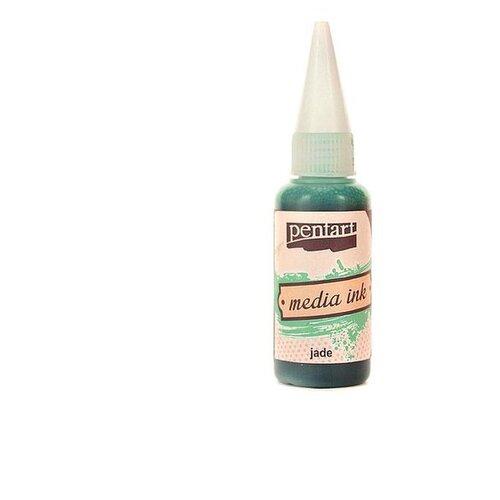 Купить Алкогольные чернила нефрит (Jade) 20 мл, Pentart, Краски