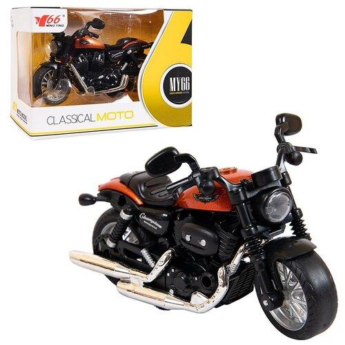 Купить Мотоцикл инерционный Junfa (серия 1), М 1:14, 12*8*4 см (MY66-M1115), Junfa toys, Машинки и техника