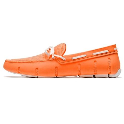 Мужские мокасины LACE LOAFER цвет Orange/white размер 45 мужские мокасины