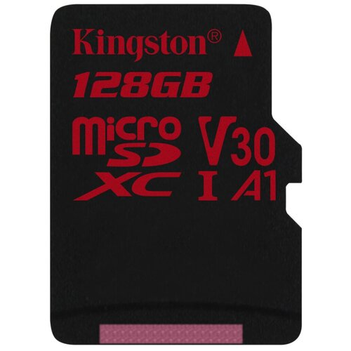 Фото - Карта памяти Kingston SDCR/*SP 128 GB, чтение: 100 MB/s, запись: 80 MB/s карта памяти netac p500 extreme pro 128 gb чтение 100 mb s