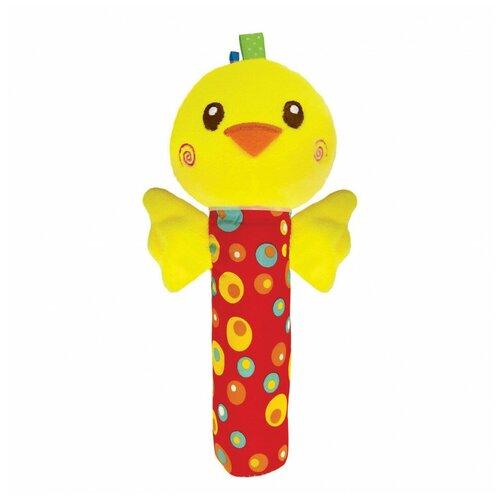 Фото - Игрушка-пищалка Азбукварик Люленьки Цыпленок 2179 подвесная игрушка азбукварик зайчонок люленьки желтый голубой