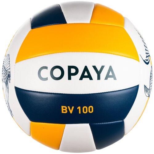 Мяч для пляжного волейбола BVBS100 , размер: 5, цвет: Асфальтово-Синий COPAYA Х Декатлон