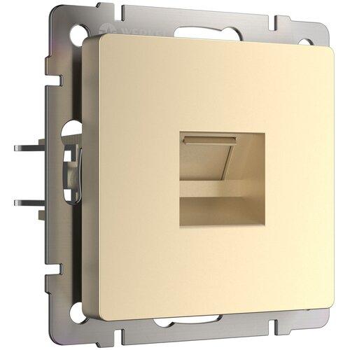 Розетка Ethernet RJ-45 шампань Werkel W1181011/ Розетка Ethernet RJ-45 (шампань)