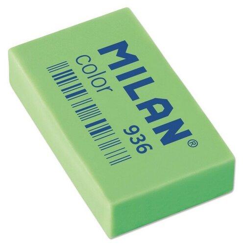 Купить Ластик пластиковый Milan 936, флуоресцентный, цвета в ассортименте 5 штук, Ластики