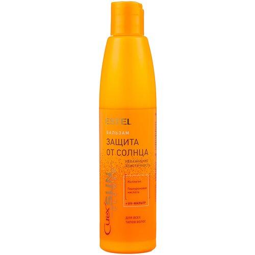 Купить Estel Professional бальзам Curex SunFlower Защита от солнца с UV-Фильтром для всех типов волос, 250 мл