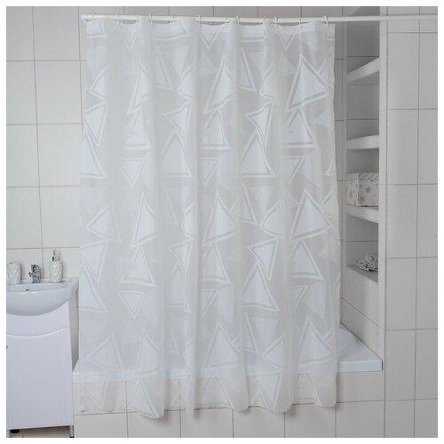 Штора для ванной Доляна Трио 180x180 трио штора для ванной доляна малевич 180x180 малевич