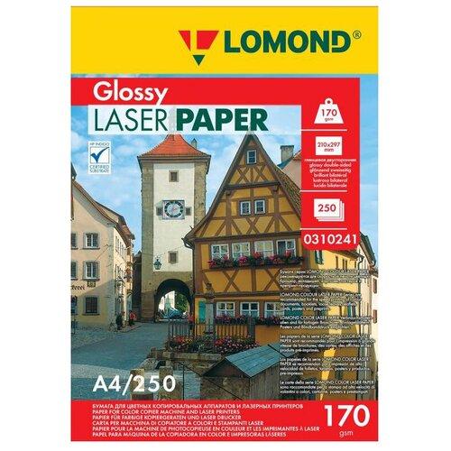 Фото - Бумага Lomond A4 Laser Paper 0310241 170 г/м² 250 лист., белый бумага lomond a4 0807435 140г м2 50 лист