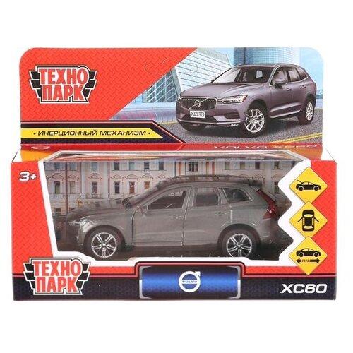 Купить Внедорожник ТЕХНОПАРК XC60 R-Desing 12 см серый, Машинки и техника
