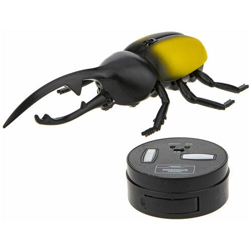 Купить Робот 1 TOY Robo Life Робо-жук-геркулес желтый, Роботы и трансформеры