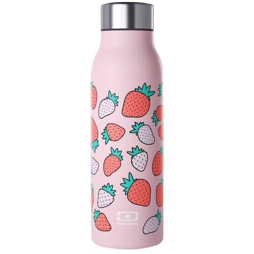 Классический термос Monbento MB Genius graphic Strawberry, 0.5 л розовый