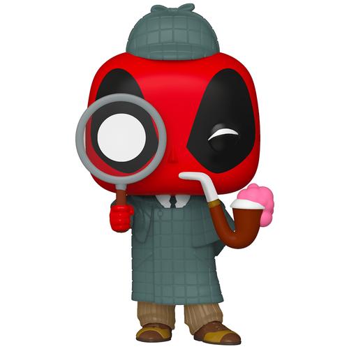 фигурка funko pop deadpool 30th roman senator deadpool Фигурка Funko POP! Marvel: Deadpool 30th: Sherlock Deadpool (Стикер Specail)