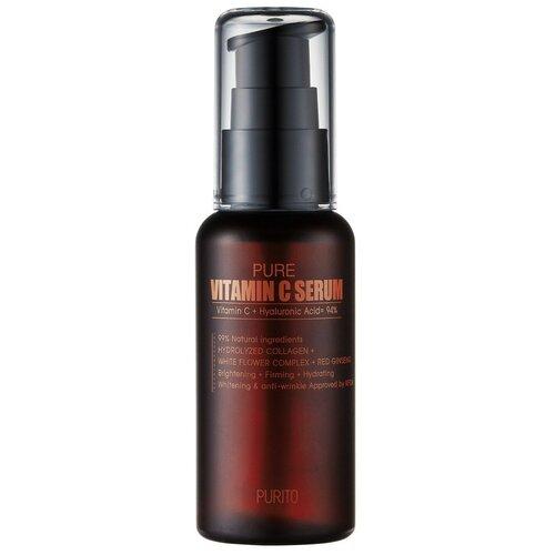 Купить Purito Pure Vitamin C Serum Высококонцентрированная сыворотка для лица с витамином С, 60 мл
