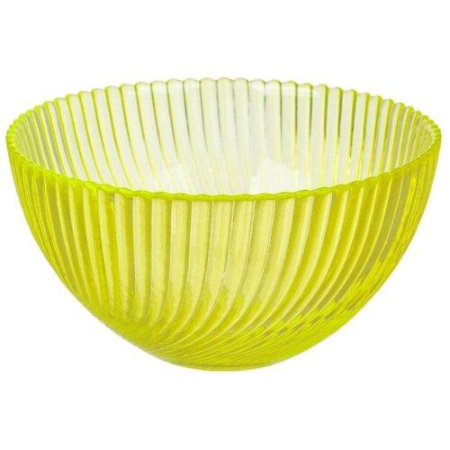 Салатник NinaGlass Альтера желтый 16 см