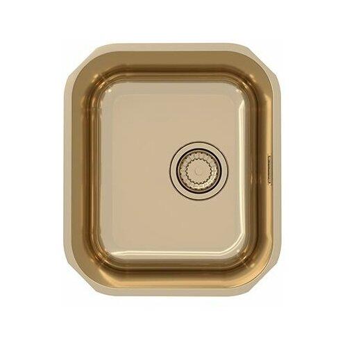 Врезная кухонная мойка 36.8 см ALVEUS Monarch Variant 40 bronze