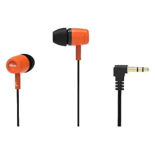 Наушники Ritmix RH-020 orange