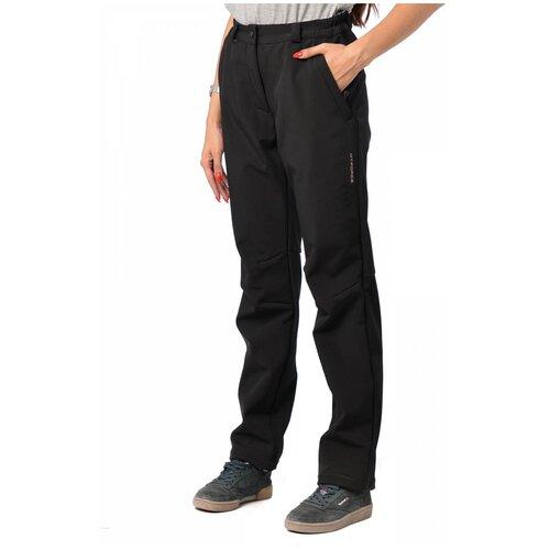 трекинговые брюки женские mtforce 412 черный 42 Трекинговые брюки женские MTFORCE 1852 БР (Черный/58)