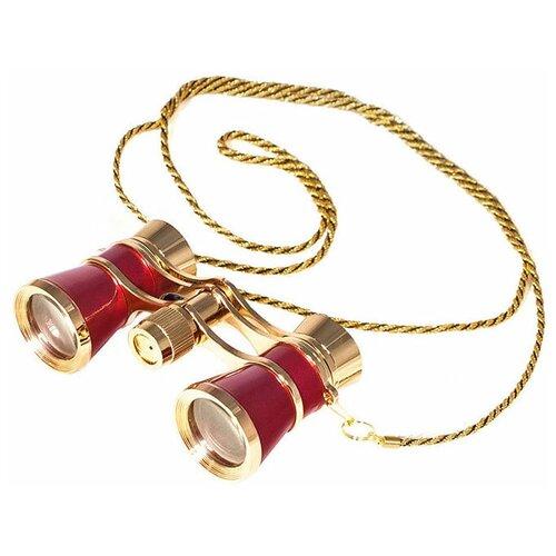 Фото - Бинокль Sturman 3x25 красный бинокль sturman 5x12 шампань