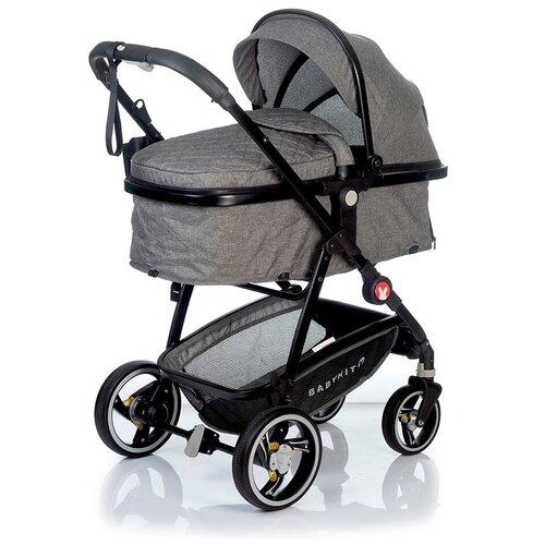 Фото - Коляска-трансформер Babyhit Winger, grey прогулочная коляска babyhit allure бежевый серый