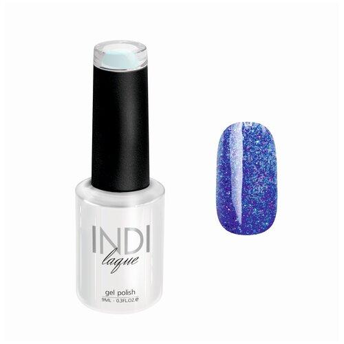 Гель-лак для ногтей Runail Professional INDI laque с мелкими блестками, 9 мл, 4241 гель лак для ногтей runail indi laque 4248 бежевый с мелкими блестками 9мл