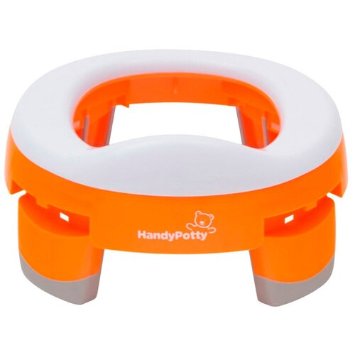 Фото - ROXY-KIDS горшок HandyPotty HP-245 оранжевый roxy kids горшок дорожный roadpotty hp 245 голубой